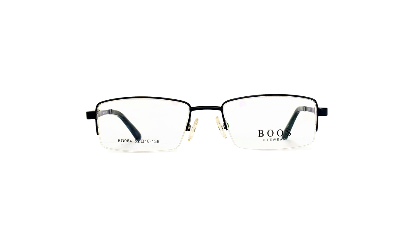 Half Rimless Metal BO064