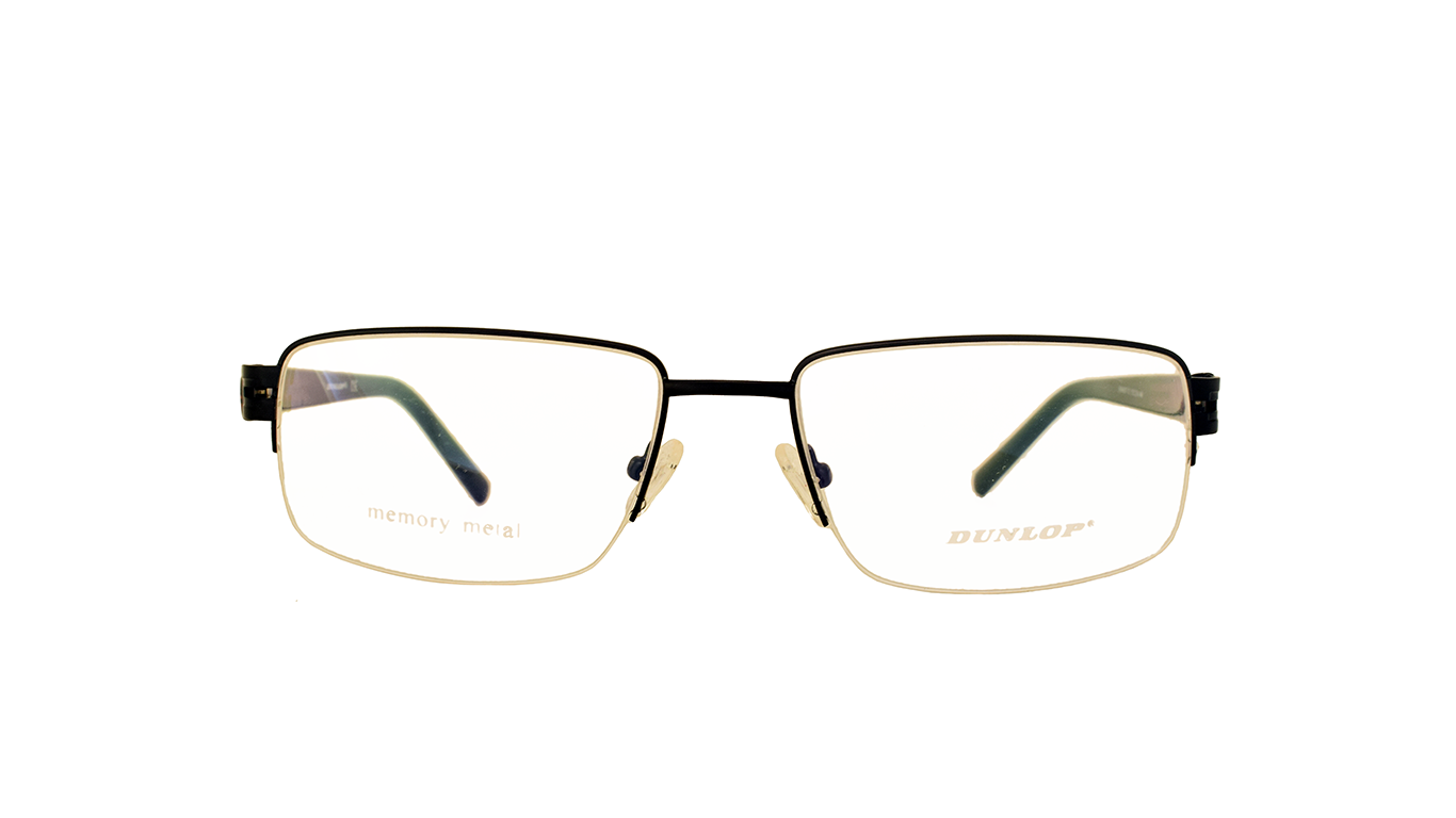 Native Square Half Rimless Metal Glasses 4507