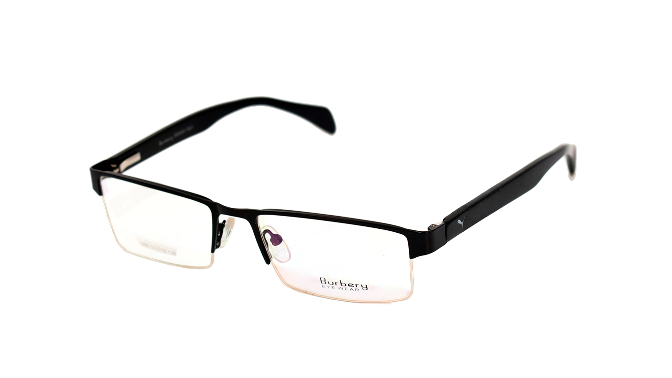 Half Rimless Metal 05 Black