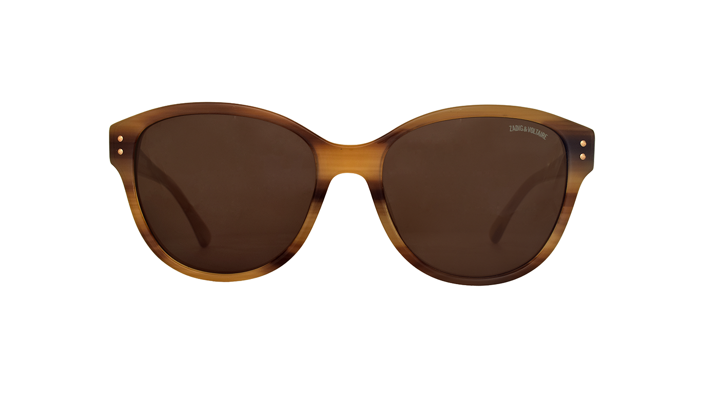 ZADIG & VOLTAIRE Striated Brown SZV057 07LC