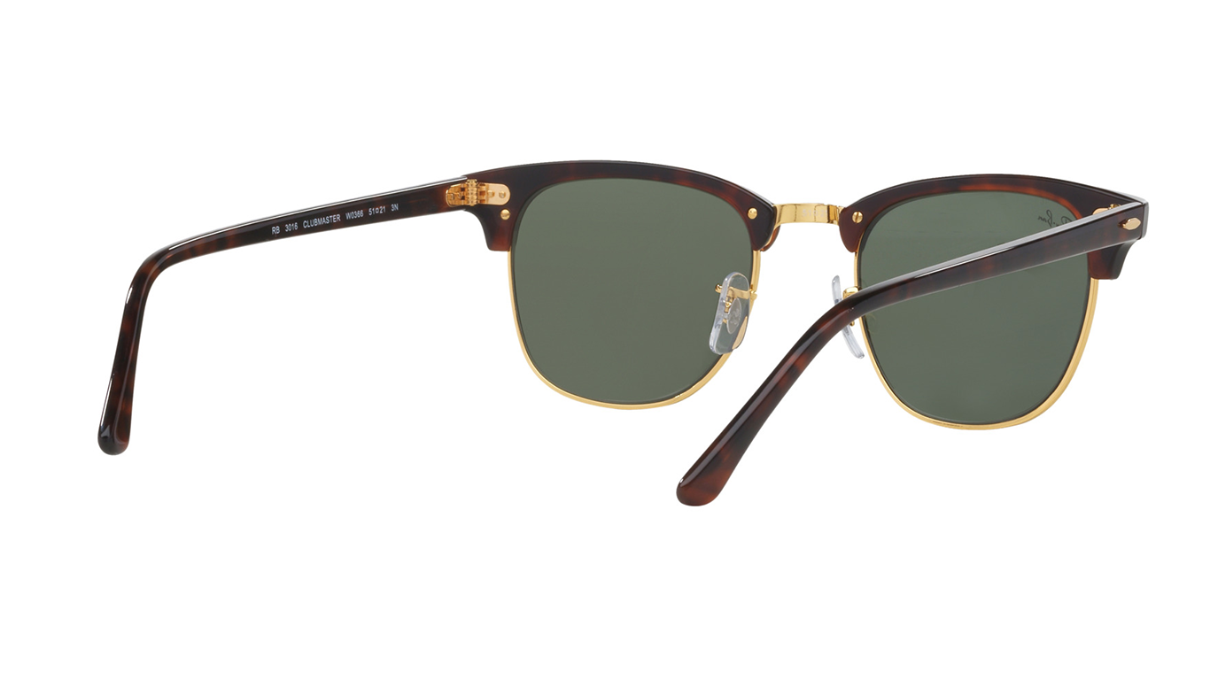 Ray-Ban Clubmaster Green Classic RB3016 W0366