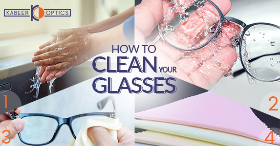 How to clean your glasses to avoid scratches